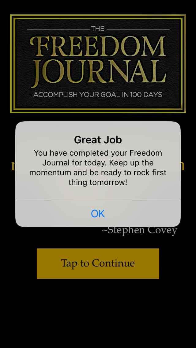 FreedomJournalApp-notification
