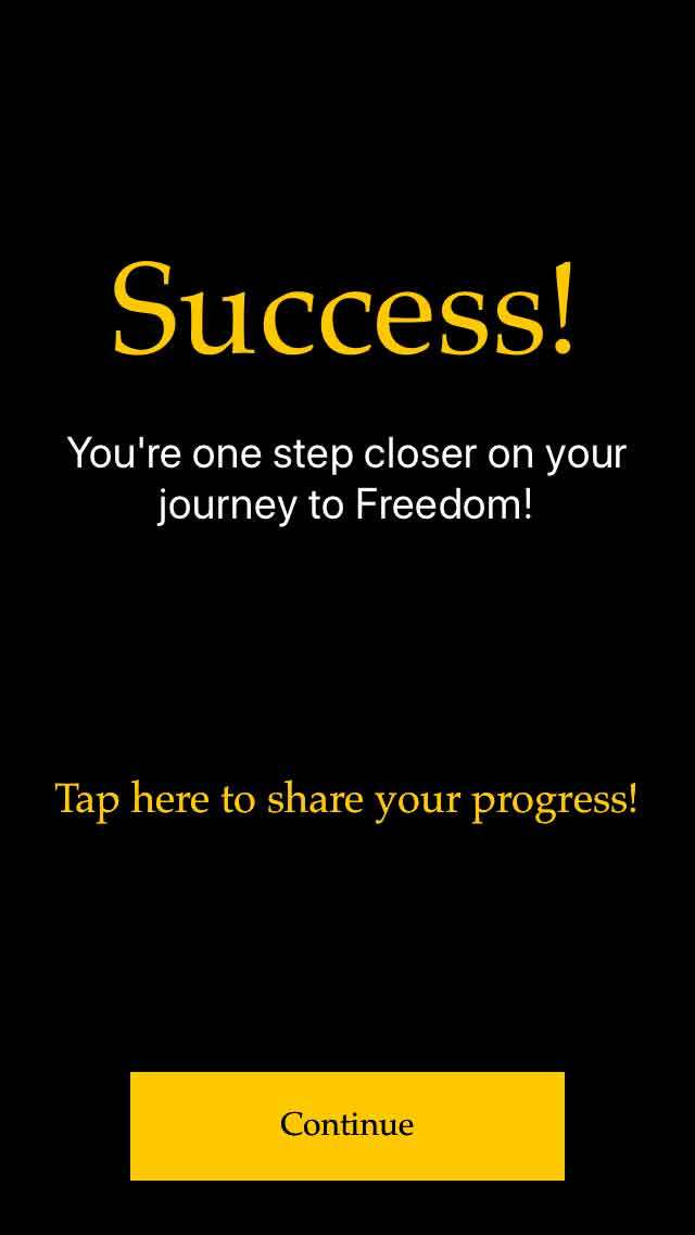 FreedomJournalApp-success