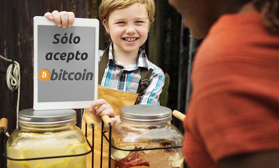 niño repelente vendiendo lemonada