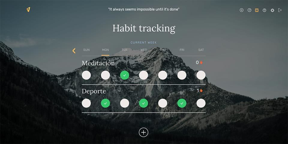 Win The Day - Habit Tracking