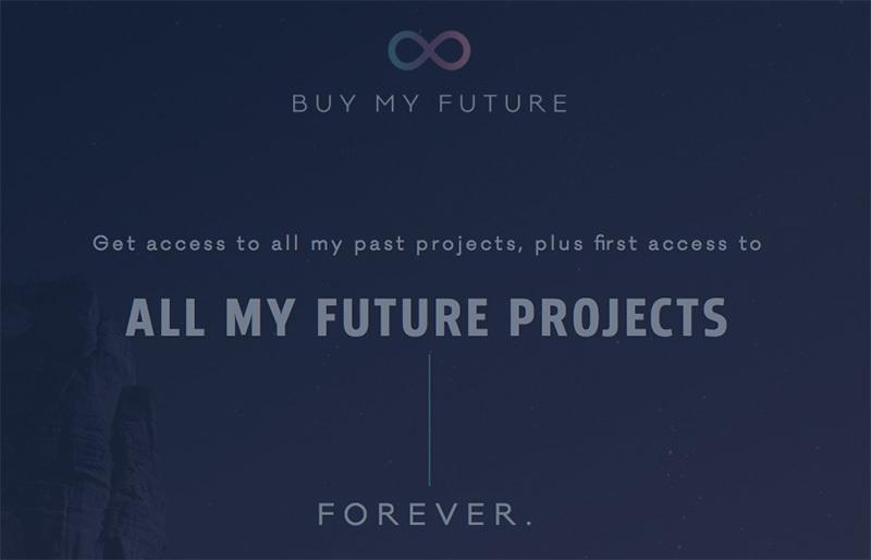 By My Future, ejemplo de idea creativa