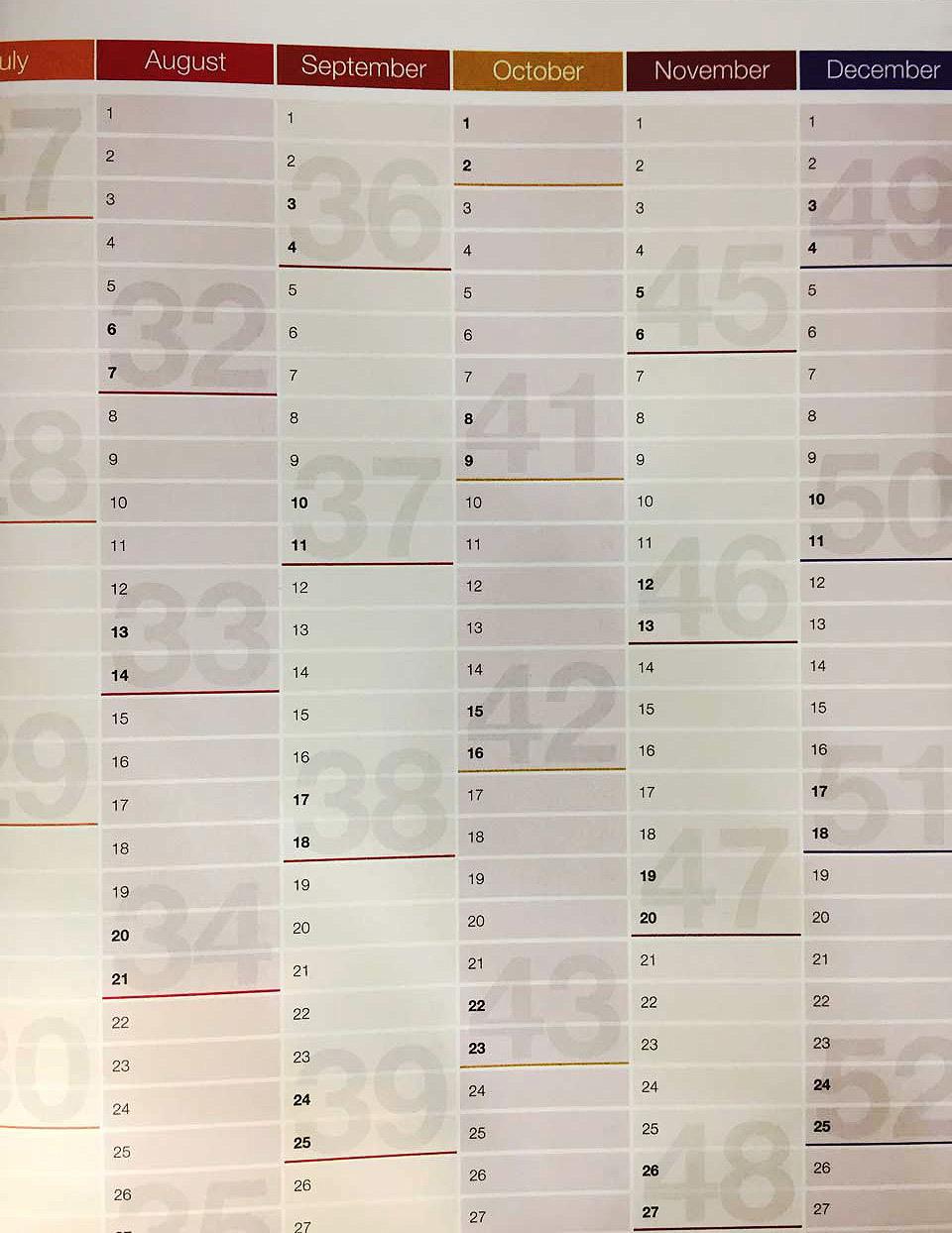 calendarioo DailyGreatness