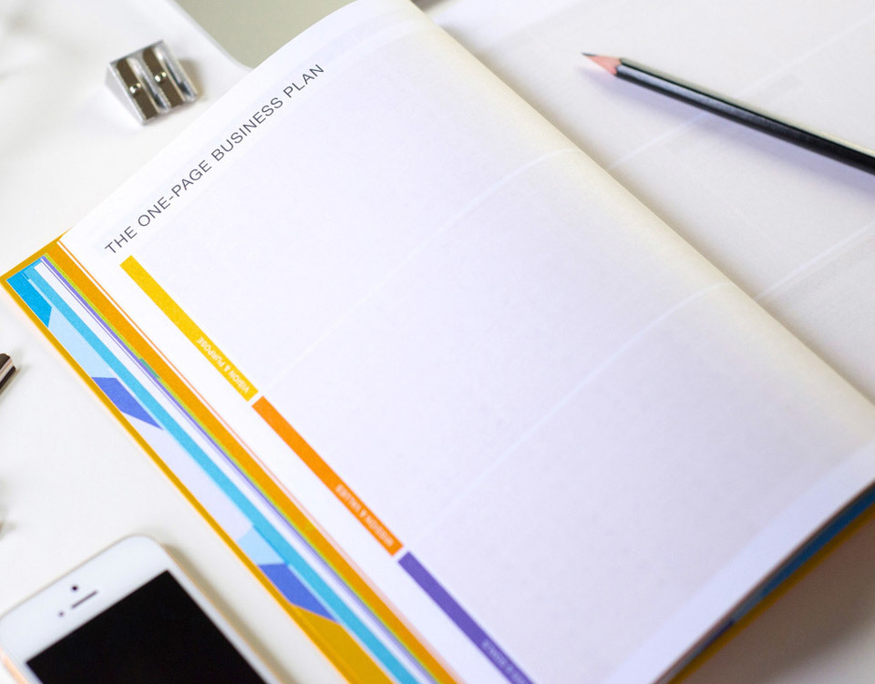 DailyGreatness - One Page Business Plan