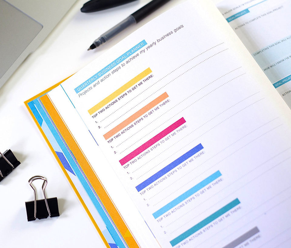 DailyGreatness-BusinessPlanner-quarterly-business-goal-planner