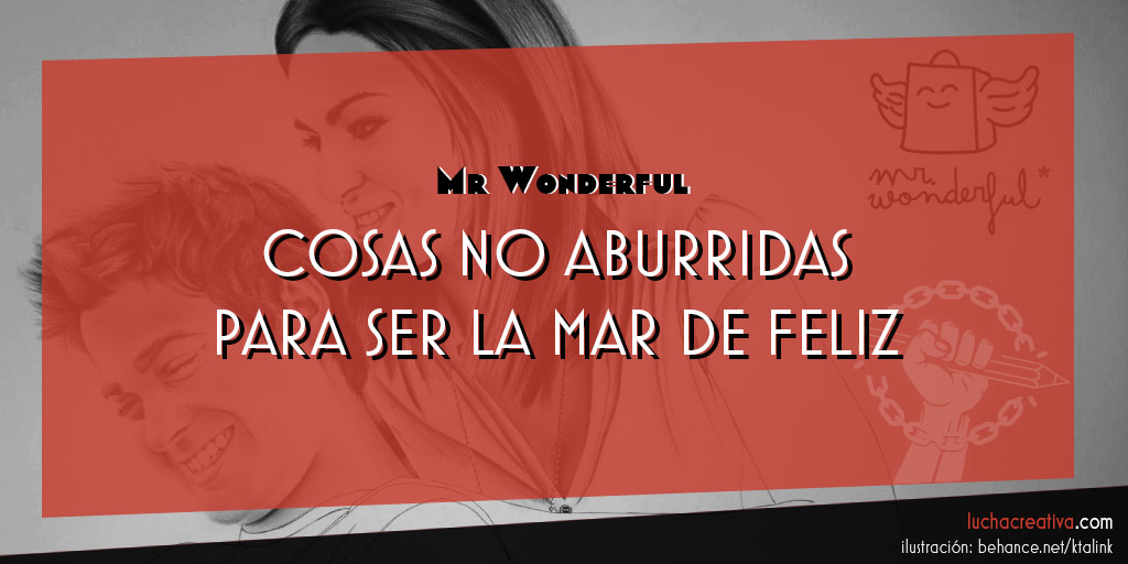 Mr Wonderful: buenrollismo ilustrado