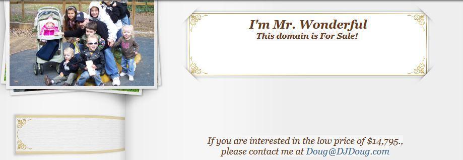 mrwonderful.com en 2011 -2012